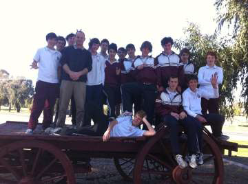 Picture: Galen Year 9 & 10 Soccer Students