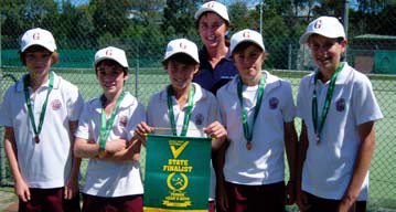Picture: Year 7 Boys Tennis