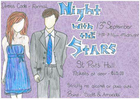 Picture: Year 10 Formal Poster